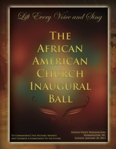 Rhue Still Inc - African American Church Inaugural Ball Journal Layout and Design
