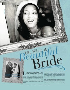 Oh What A Beautiful Bride - Rhue Still Inc Article page 1